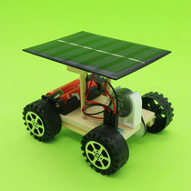 Assembled model small production solar Toy diy technology Board car car manual battery self-made sets