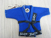 Fitness Brazilian jiu jitsu clothing keychain judo clothing accessories keychain keychain pendant lock