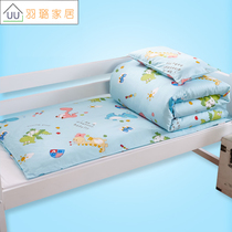 Kindergarten into the park special quilt three sets of six pieces of cotton with core mattress cotton baby baby bedding