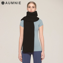 Aumnie Omini Shu Ms. spring and summer warm (plain wool scarf) Canadian brand fashion yoga