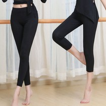 Wannex professional tight body ballerina dance pants women spring and summer high waist show thin bodybuilding gymnastics yoga