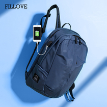 Fibonacci Backpack Junior High school bag double shoulder bag schoolboy schoolbag female Korean edition Harajuku Ulzzang Middle School student
