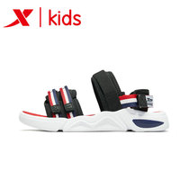 Special step sports sandals boys 2019 summer new student sandals breathable big child Velcro beach shoes non-slip
