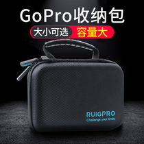 gopro storage bag gopro package hero7 6 5 4 accessories storage box Large Medium Small and small ant 4K sports camera digital portable accessories set go