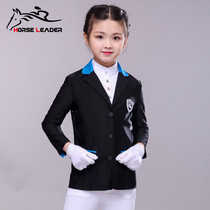 Childrens equestrian equipment childrens summer thin race suit womens equestrian supplies horse riding race suit men