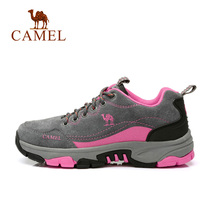 (Hot sale 14000 pairs) camel Outdoor Womens shoes trekking hiking shoes winter non-slip lightweight sports shoes