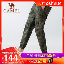 Camel camouflage overalls mens pants summer thin section 2019 new Korean trend trousers feet sports casual pants