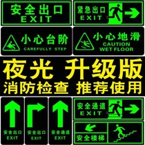 Sign plate toilet emergency fire hydrant sticker no smoking sign mark door put red placed underground