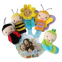 Baby Plus Toy Finger Doll New Baby Bee Animal Finger Toy Finger Sleeve Doll