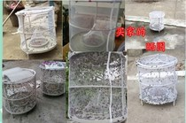 Fly workshop folding net nemesis chicken pig farm closed cage fly automatic catch artifact farm fly toilet
