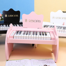 New renopia beautiful childrens electronic piano electronic piano beginner childrens toy piano Wooden 25 key piano