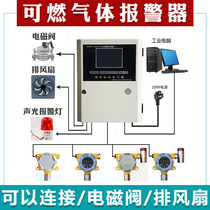 Combustible Gas Detector gas anti-leak alarm natural gas detector automatic expire acetylene controller