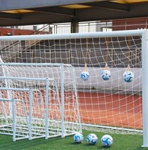 Mobile football box dual-use goal football field net five-a-side door frame portable home football fans fold small door