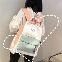 Korean version of the backpack vintage sense girl bag campus Harajuku ulzzang high school students junior high school students shoulder bag