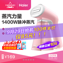 Haier Home portable hanging hot small iron mini steam brush repasseuse portable travel hot clothes 3002