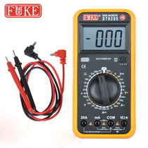 Automatic number of sub-multimeter DT-9205A anti-burn full protection multimeter for electrician students