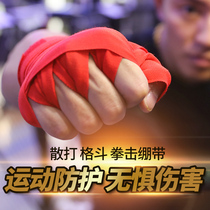 Boxing bandage fighting with hand boxing muay thai boxing tied hand with cotton high stretch sandbags hand men and women