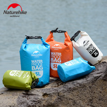 2019 new hot selling NH outdoor rafting bag swimming snorkeling bag travel mobile phone waterproof bag bucket bag beach bag