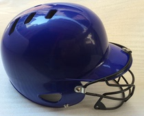 Professional baseball helmet combat helmet double ear baseball helmet wearing a mask protective cover head protection Face Stick softball