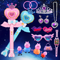 Childrens toys magic fairy stick little girl magic fairy toy magic wand music luminous fairy wand flash stick