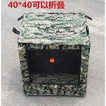 Slingshot target Box Mini sports camouflage elastic thickened silencer cloth buffer double layer shooting paste recycling box practice