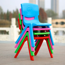 Childrens chair backrest baby stool baby seat nursery tables and chairs plastic bench Home non-slip plastic chair