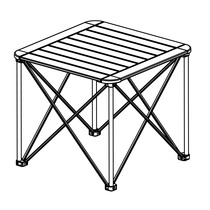 Loss-making clearance refusal to return. . . all-aluminum folding table outdoor portable folding table picnic barbecue table