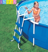 Véritable escalade de piscine INTEX échelle de piscine escalator escalator double face échelle déquipement de piscine dans un rayon de 107CM