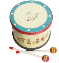 Orff Musical Instrument San Sans Custom Childrens Flower Drum With Hammer Two