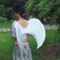 Shengquan Costume Ball Angel Wings Feather Wings Angel Feather Wings (Four Colors)