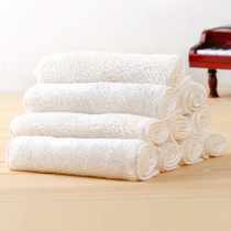 (8 pieces)double layer bamboo fiber dish towel dish cloth rag water resistant multi-purpose
