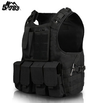 51783 foreign foreign fan products camouflage tactical Vest lightweight Special Forces tactical marquee Live CS Equipment