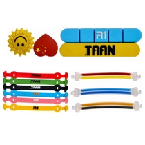TAAN Taj Shock absorber Tennis racket silicone shock absorber accessories smiling face double buckle double hook shape ellipse