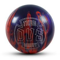 15 new imported DV8 professional bowling thug corrupt curve curve ball 15 pounds