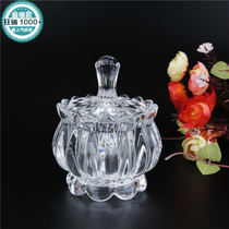 Home pot sugar cylinder lead-free crystal glass candy cup sugar cylinder storage tank baby tank baby bottle fruit cup