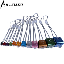 Alnas outdoor climbing equipment mountaineering rock stopper rock climbing fixed point rock stopper 12 branch rock seam stopper