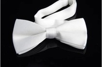 Standard Modern Gentleman dress bow tie solid color bow Conan bow tie double three-dimensional bow tie multi-color