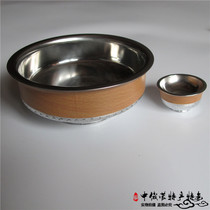 Inner Mongolia specialty wine bowl Toast Bowl Wine cup tourist souvenir crafts stainless steel bowl wedding covered with meals