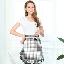Half aprons home adult kitchen short aprons Korean fashion beautiful lace half aprons female