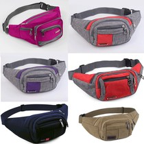 Fanny pack outdoor middle-aged elderly fanny pack male multi-functional female multi-functional fanny pack ladies fanny pack printing mobile phone