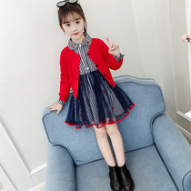 Girls dress set 2020 new Spring Fashion children fashionable tide clothes spring and autumn children's two-piece suit