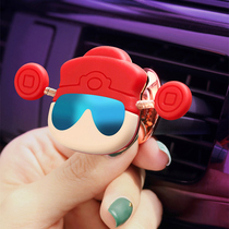 Car phone holder magnetic patch cute God of wealth car with the outlet car creative female navigation bracket