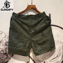 sundipy summer mens hole shorts casual youth scratch in the pants tide male summer casual straight pants