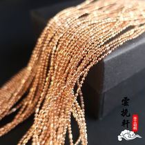 Yun Yan Xuan about 1mm new ball cylindrical bead chain handmade DIY antique tassel jewelry accessories