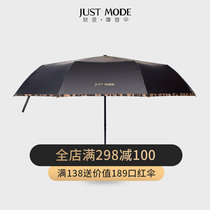 (Send the same paragraph canvas bag) sun umbrella sunscreen sunscreen anti-UV vinyl female compact portable umbrella