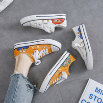 2019 spring and summer new tide shoes net red canvas shoes female students wild Korean Harajuku ulzzang shoes ins