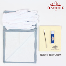 Handel flute repair maintenance cleaning accessories wipe silver cloth softwood cleaning 5 maintenance kit new