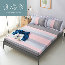 Cotton bed linen cotton single non-slip 1 5 single double Foreign Trade Simmons Mattress Cover 1 8 meters bedspread protective cover