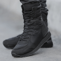 Military boots male special forces ultra-light combat boots tactical training shoes wear-resistant breathable Marine boots high-top shock absorption desert boots