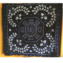 Dali handmade tie-dyed tablecloth wall hanging bagua characteristic gift hand with evil town house
